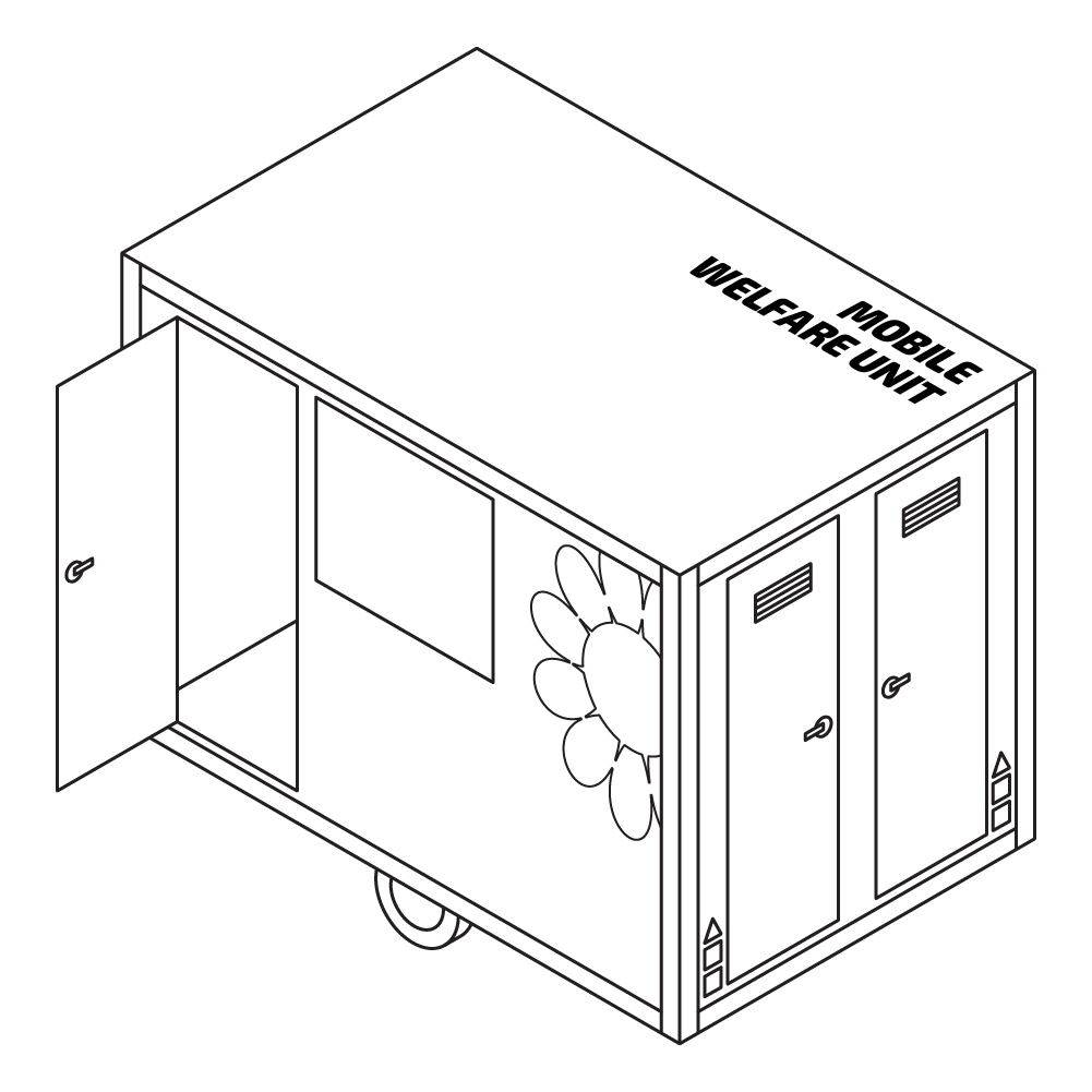 Hire the Eco Welfare Unit for your site