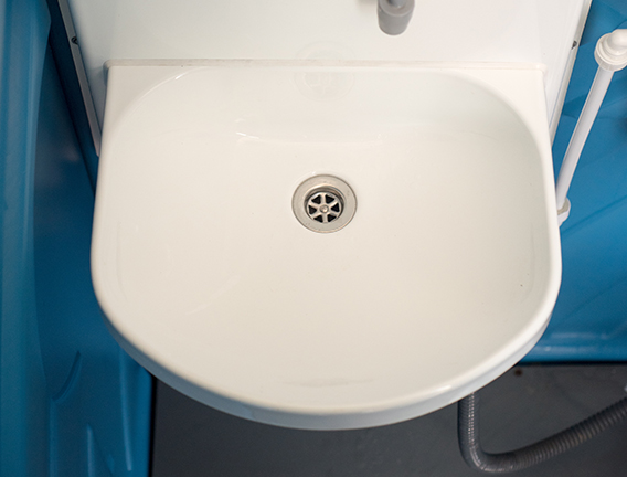 Handwash facility for site toilet hire