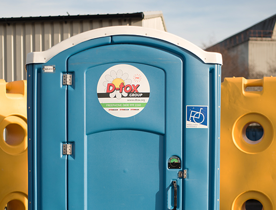 Wheelchair access site toilet hire