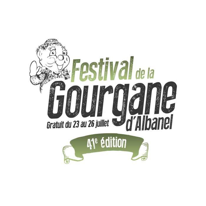 Dépliant logo festival gourgane albanel