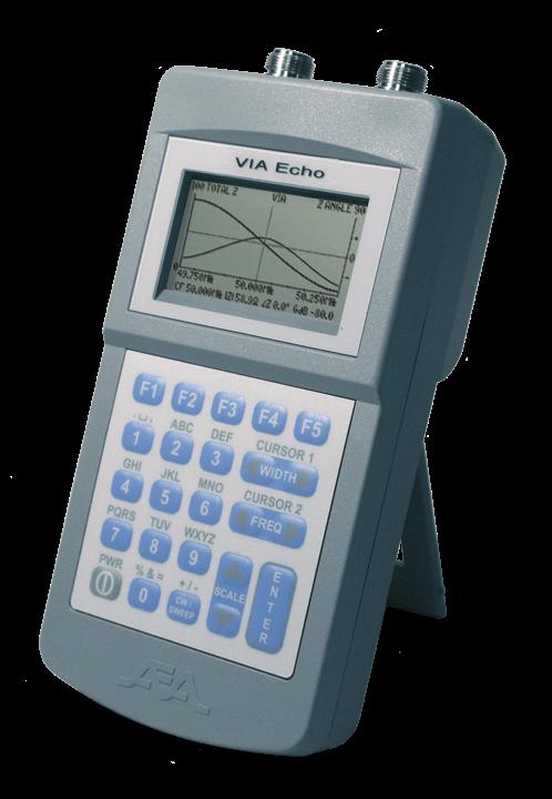 Network Analyzer Hand Held : Via echo vector network analyzers vnas from aea tech
