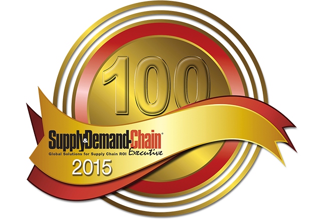 Supply and Demand Chain Executive Top 100 Logo