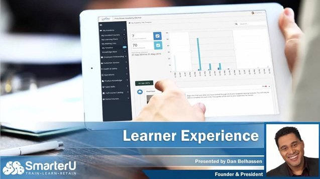 SmarterU LMS Learner Experience - SmarterU LMS - Corporate Training