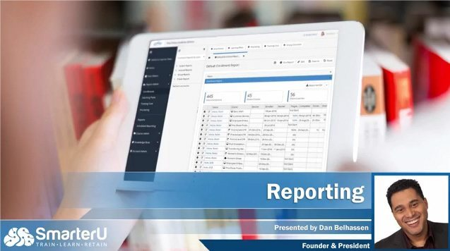 SmarterU LMS Course Reporting - SmarterU LMS - Learning Management System