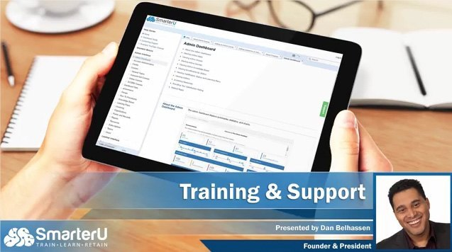 SmarterU LMS Training & Support - SmarterU LMS - Corporate Training