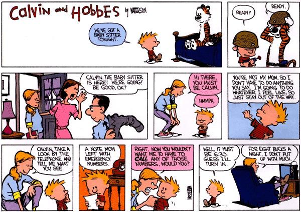 Calvin et hobbes porn