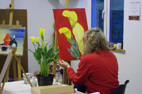 painting classes wexford