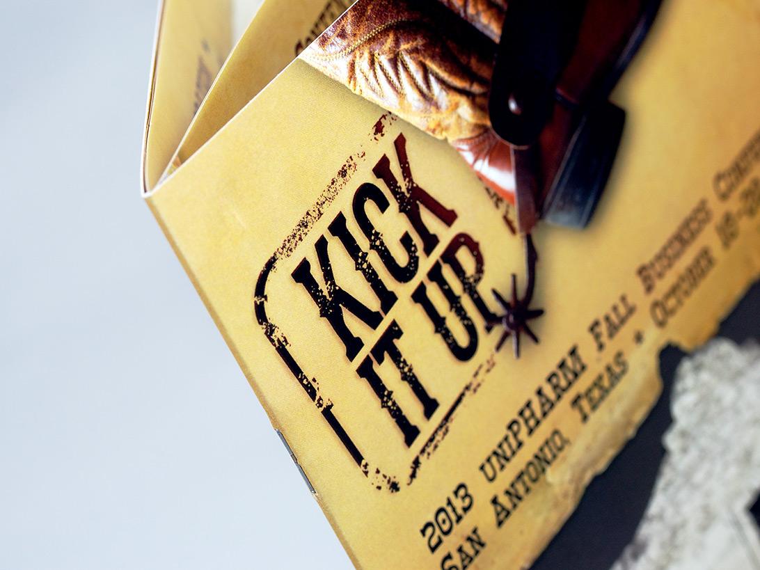 uniPHARM Kick it Up Logo