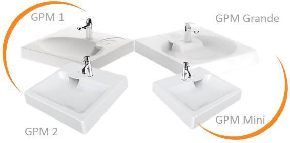 Lavabos siphon arrière ou siphon compact