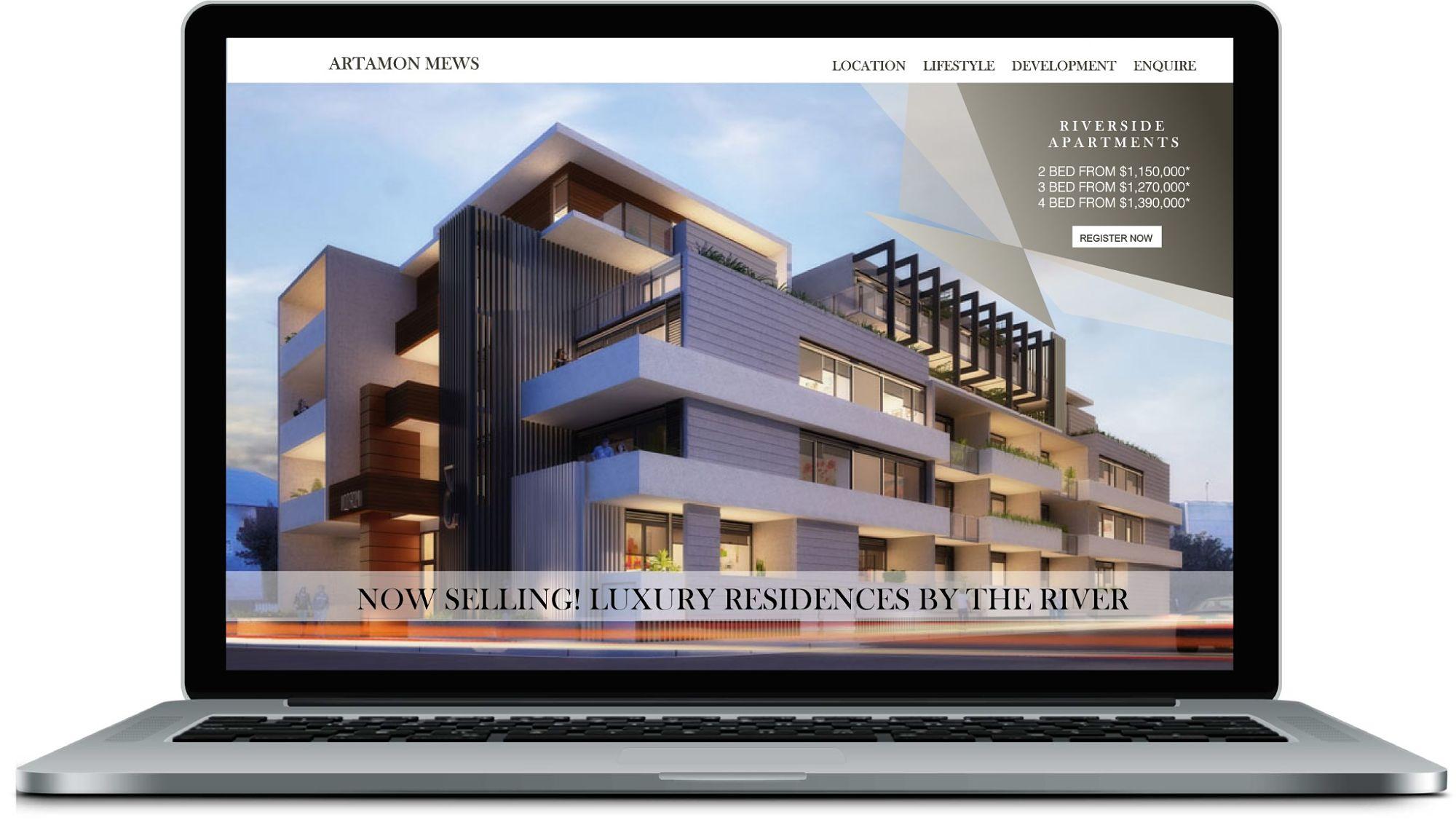 Kelli Cohen Website Design