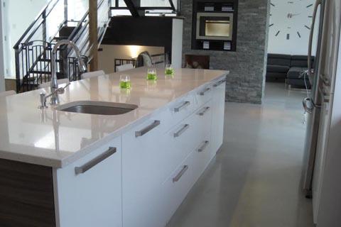 Armoires de cuisine teindre armoire de cuisine en also - Armoire de cuisine blanche ...
