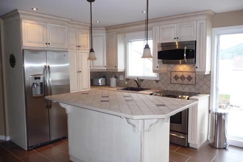 mercier armoires de cuisine j daigneault inc. Black Bedroom Furniture Sets. Home Design Ideas