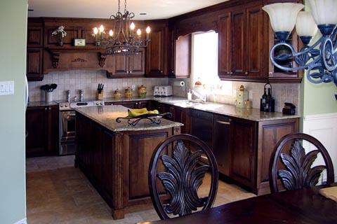 D couvrez quelques unes de nos r alisations armoires de cuisine j daigneault inc - Teindre armoire de cuisine ...