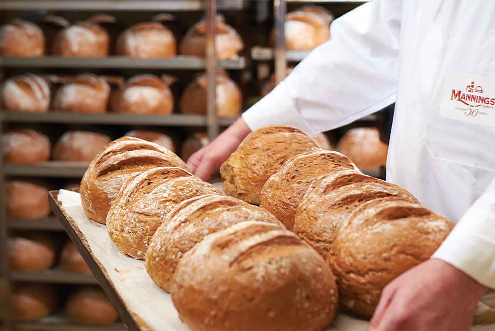 Mannings have a long tradition of craft baking in Dublin
