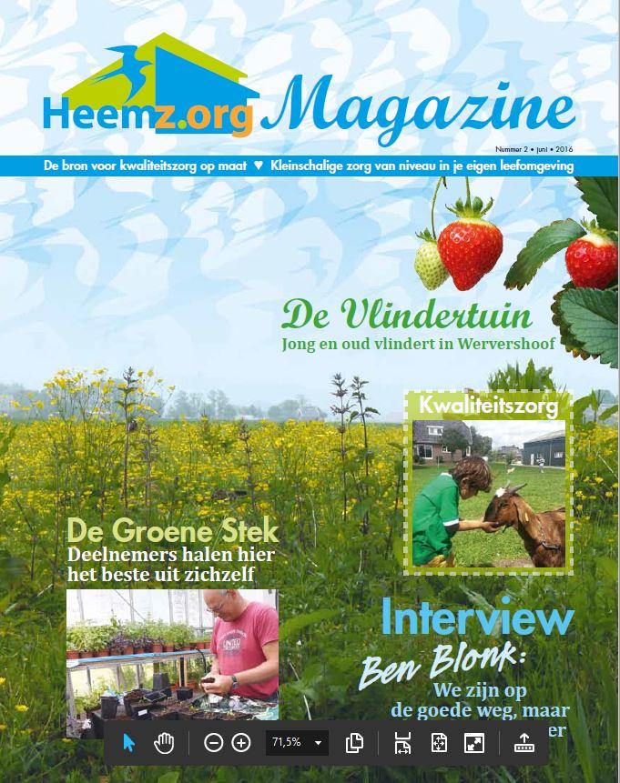 Heemz.org Magazine nr. 2 2016 nu digitaal te downloaden