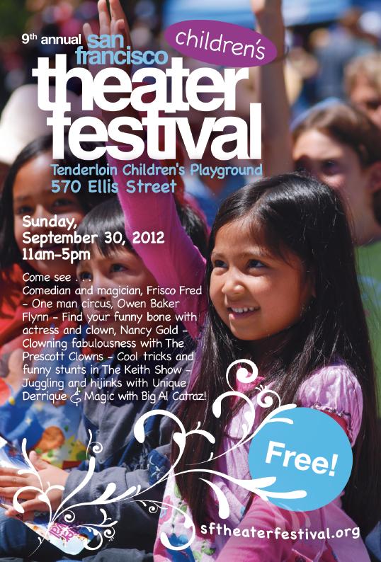 theatre festival poster design