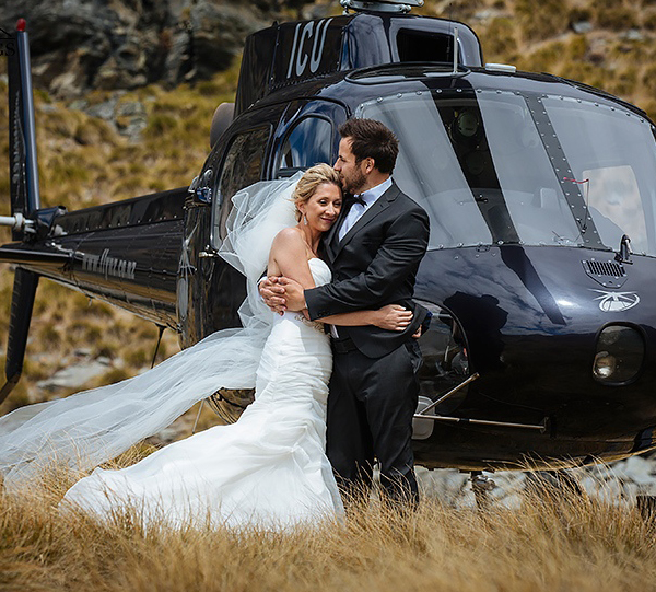 Helicopter Services for Special Events & Weddings