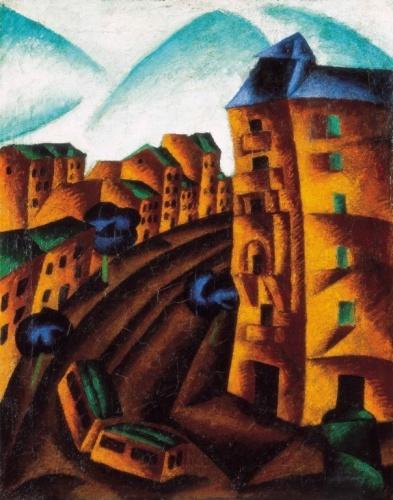 Bortnyik Sándor (1893-1976): Damjanich utca