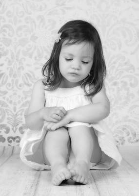 Kinderportrait kleines Mädchen