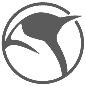 Penguin round logo