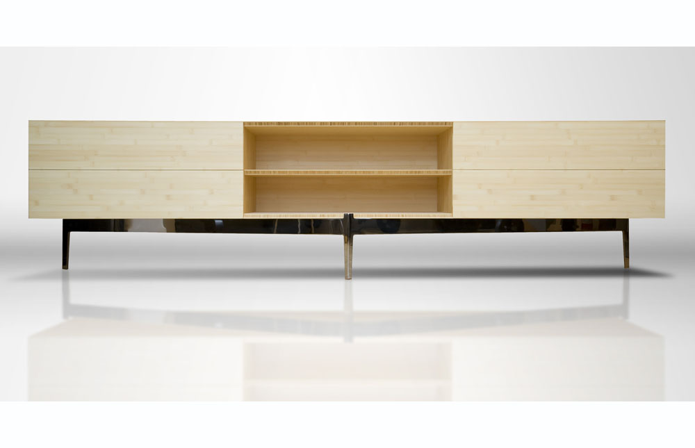 Contemporary Furniture, Bamboo Creenza