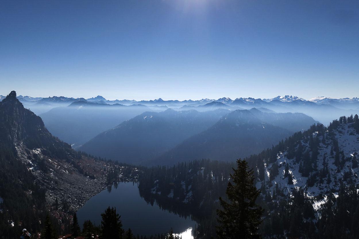 Beautiful Lake Valhalla