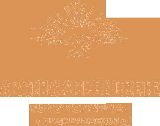 Abstrakt Concrete home logo