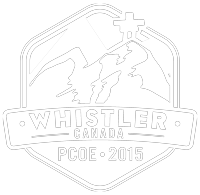 Portfolio logo - Whistler Canada PCOE 2015 - white version