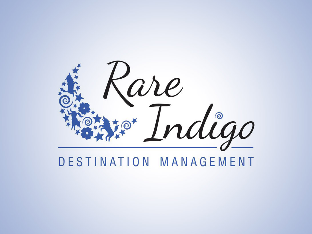 Rare Indigo Destination Management full colour logo