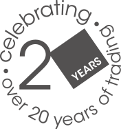 20 Years of Trading logo
