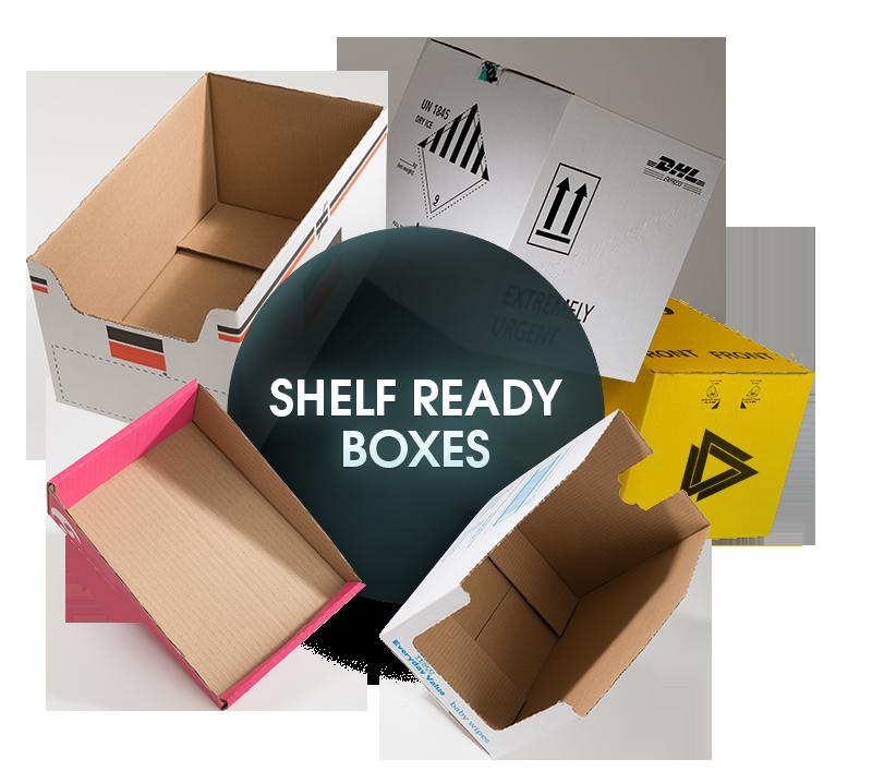 CORRUGATED Shelf Ready Boxes