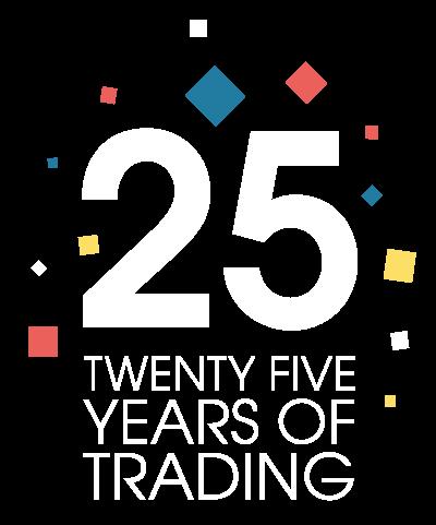 20 Years of Trading logo