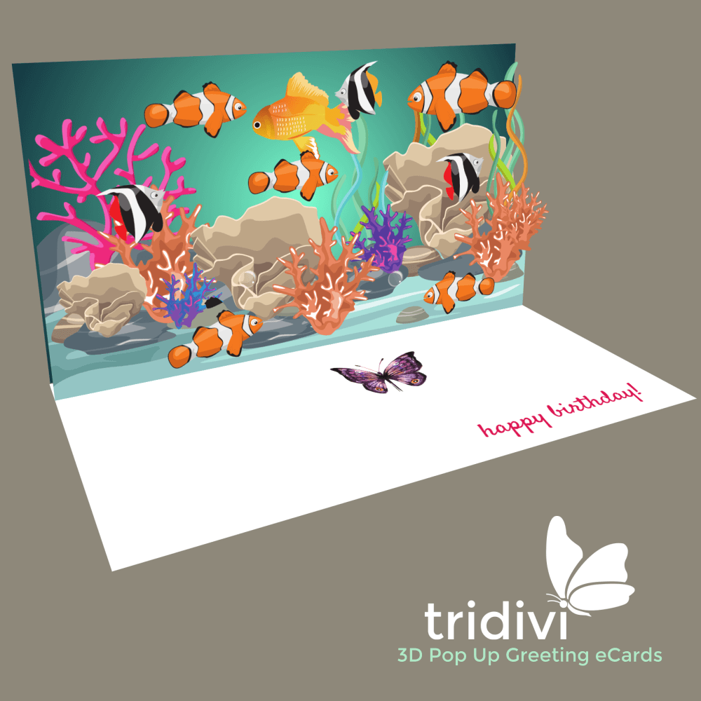 FREE Personalized 3D Pop Up eCards tridivi – Online Birthday Greeting Card Maker