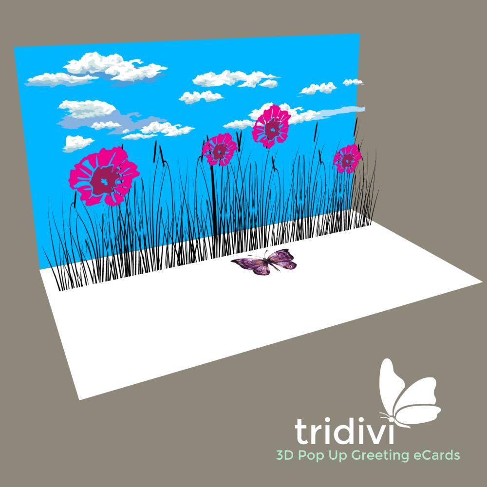 Free personalized 3d pop up ecards tridivi just because 3d pop up cards and ecards kristyandbryce Image collections