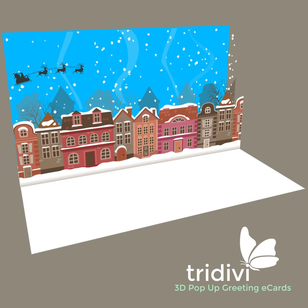 Christmas Cards 3d Pop Up