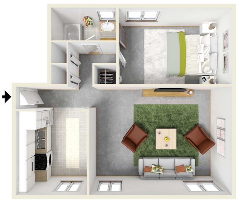 highland manor apartments   rochester, ny