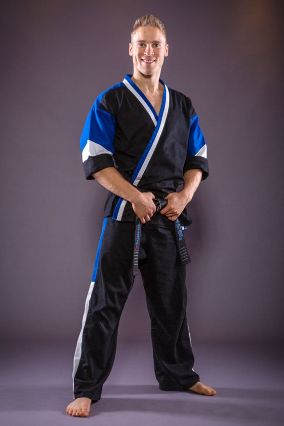 Liam Richards head karate and kickboxing coach