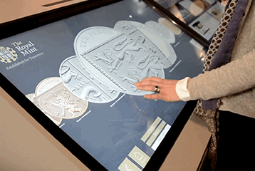 touchscreen exhibit
