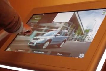 multi-touch presentation