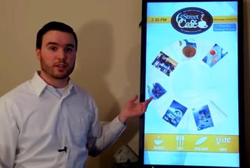 interactive menu