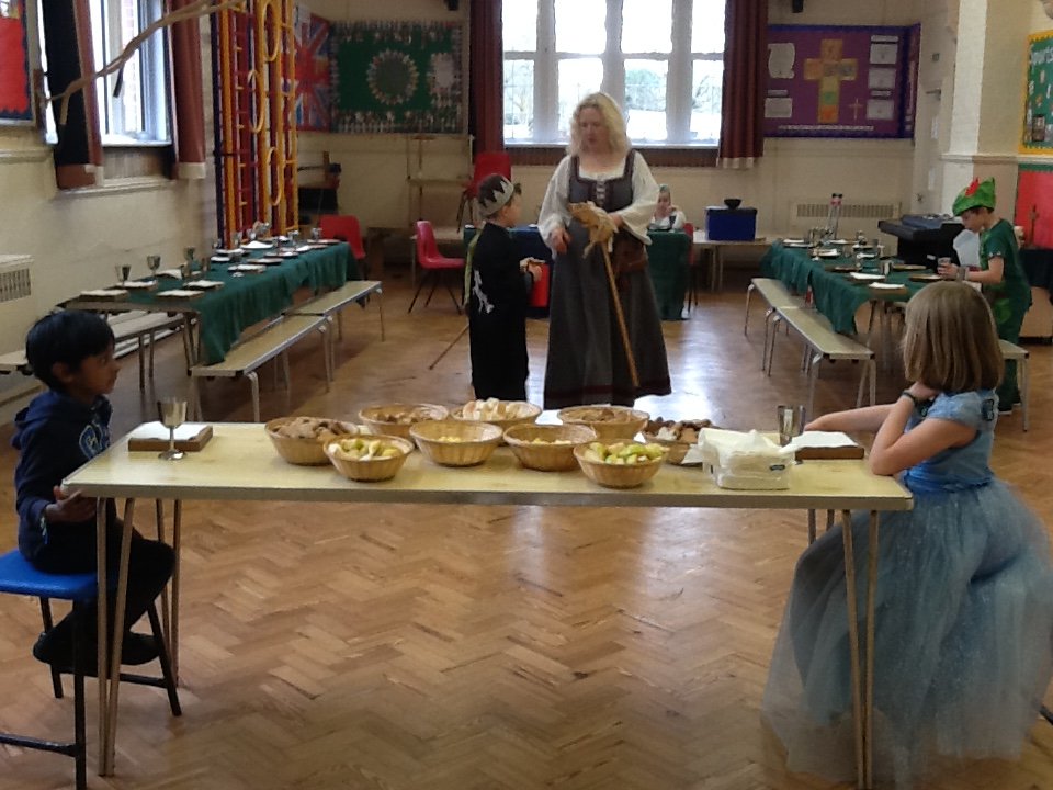 Preparations for the Royal Banquet