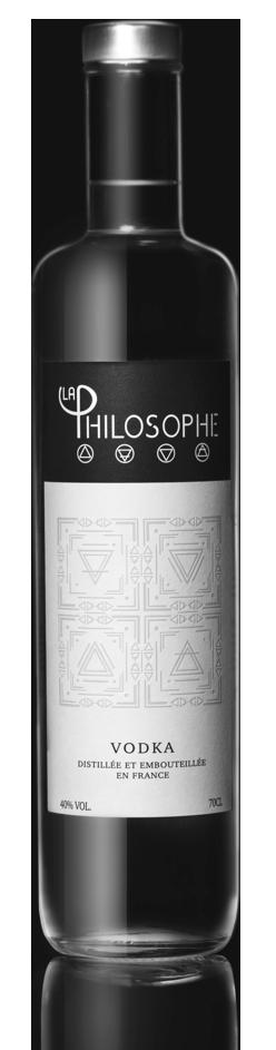 Bouteille la philosophe vodka