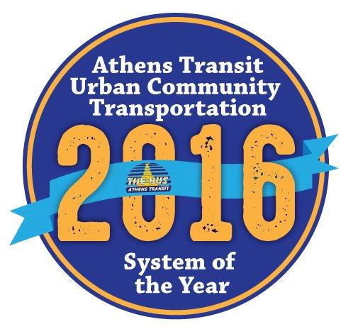 2016 Urban Community Transportation System of the year