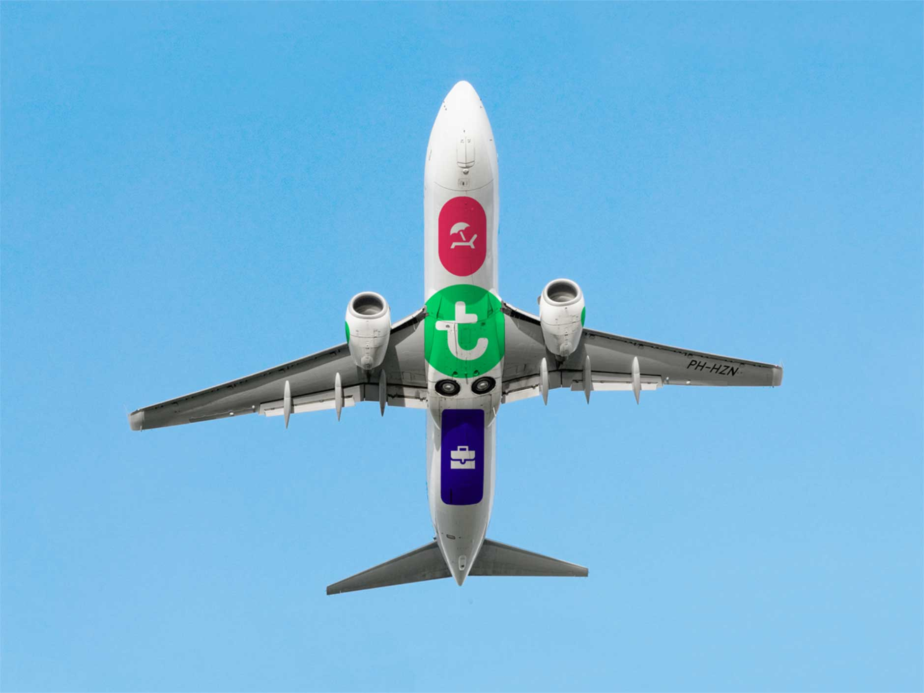 Icons by #dutchicon on the bottom of a Transavia airplane.
