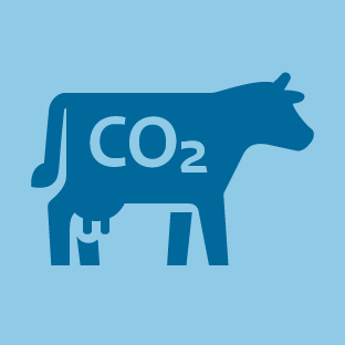 CO2 Emissions icon by #dutchicon for the Dutch Government (Rijksoverheid).