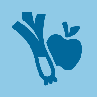 Fruit and Vegetables icon by #dutchicon for the Dutch Government (Rijksoverheid).