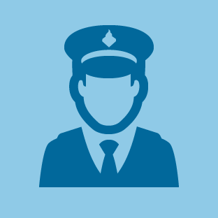 Police icon by #dutchicon for the Dutch Government (Rijksoverheid).