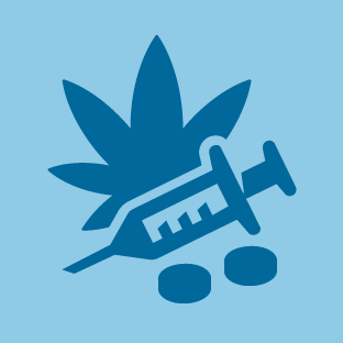 Drugs icon by #dutchicon for the Dutch Government (Rijksoverheid).