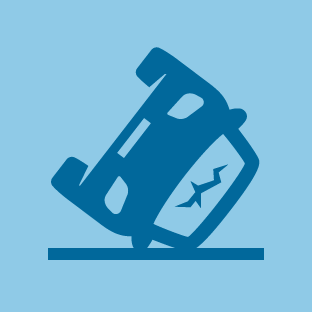 Accident icon by #dutchicon for the Dutch Government (Rijksoverheid).