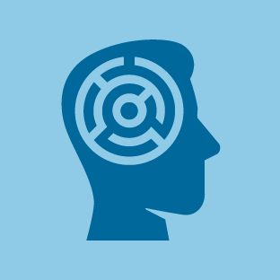 Dementia icon by #dutchicon for the Dutch Government (Rijksoverheid).